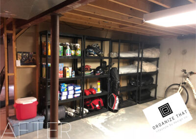 Professional Organizing Services Before and After