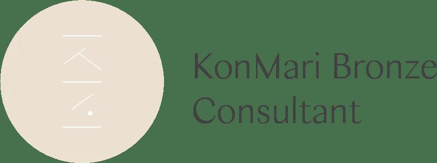 KonMari Certified Consultant Bronze