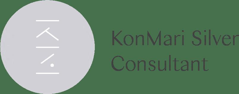 KonMari Certified Consultant Silver